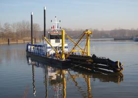 1500流量绞吸式挖泥船