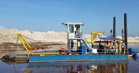 500流量绞吸式挖泥船