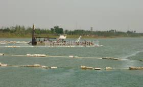 500流量半液压绞吸式挖泥船